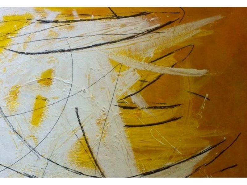 Martina Hatzelmann: Freude (2015) Acryl auf Leinwand 90x120cm