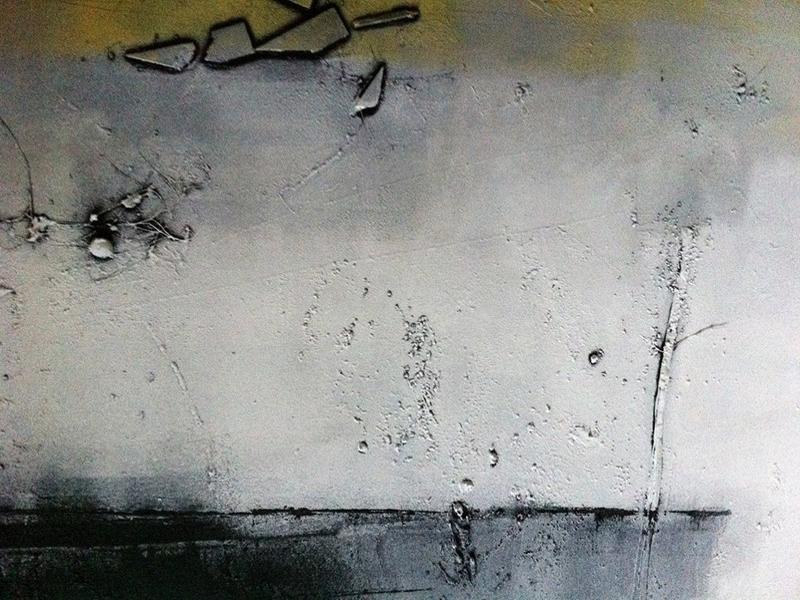 Martina Hatzelmann: Instinkt (2013) Acryl auf Leinwand, 100x100cm (Ausschnitt)