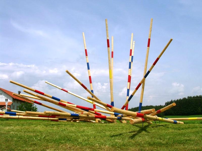 Mirko Siakkou-Flodin: Eventskulptur Hofenmuseum Tettnang