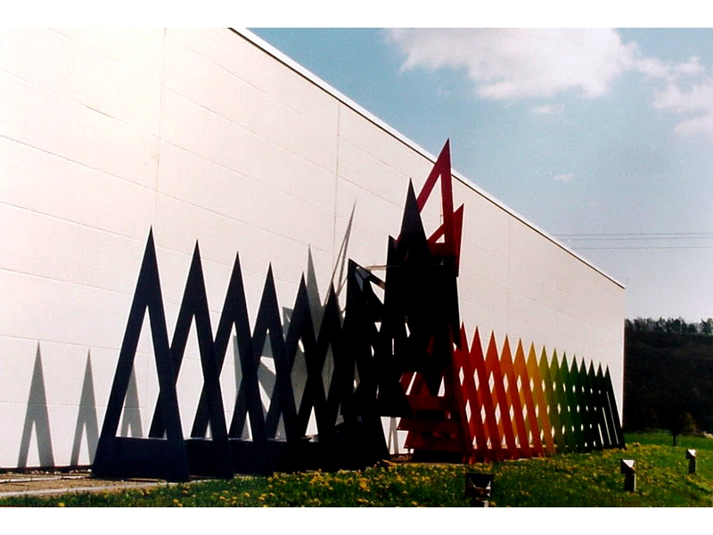 Mirko Siakkou-Flodin: Industrieskulptur DT Dental Shop