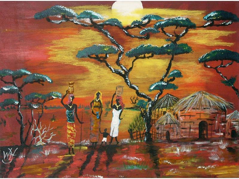 Wolfgang Hirschberger: Afrika