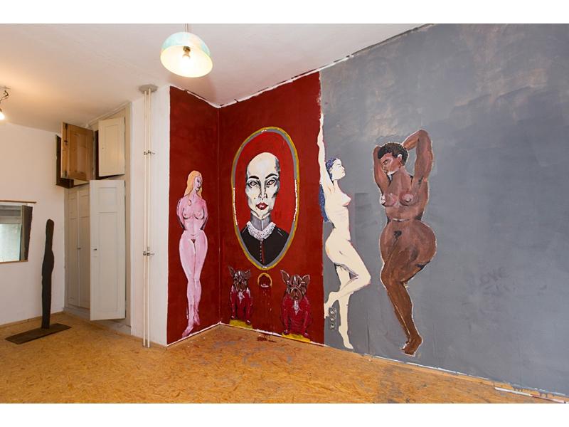 Ravensburg-Weingartener Kunstverein, Kunstnacht 2016 Räuberhöhle, Foto Karin Volz