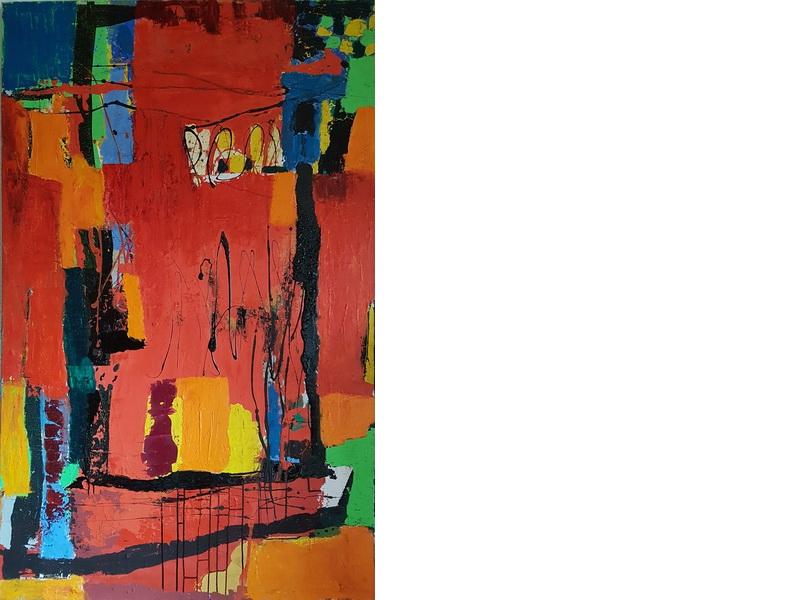 Heidrun Becker- Abstraktion