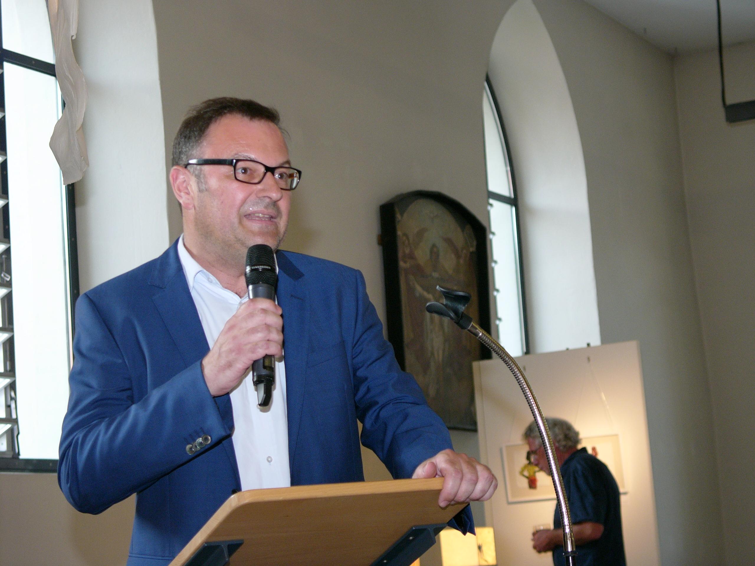 VielFaltPapier - Ausstellungseröffnung: Prof. Andreas Schmauder