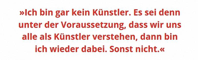 Zitat Beuys